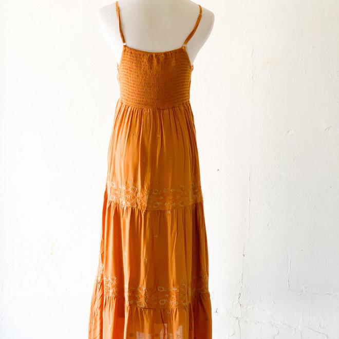 Sight Seeing Dress Rust