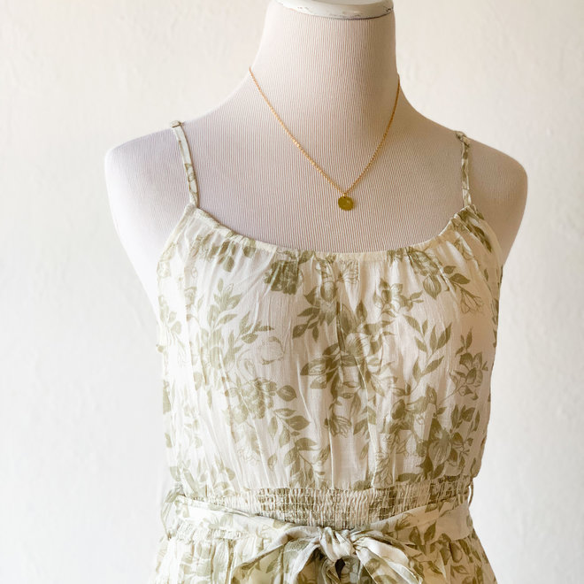 All About You Dress Olive
