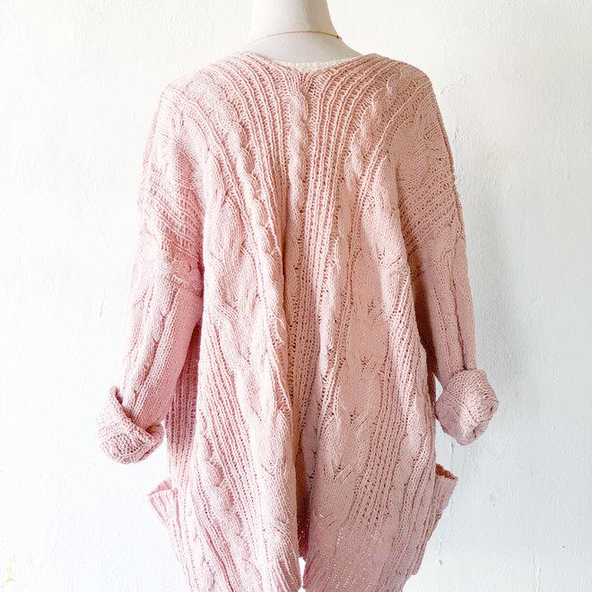 Wonderful Life Cardigan Pink
