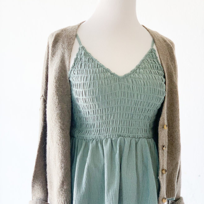 See the good Cardigan Olive