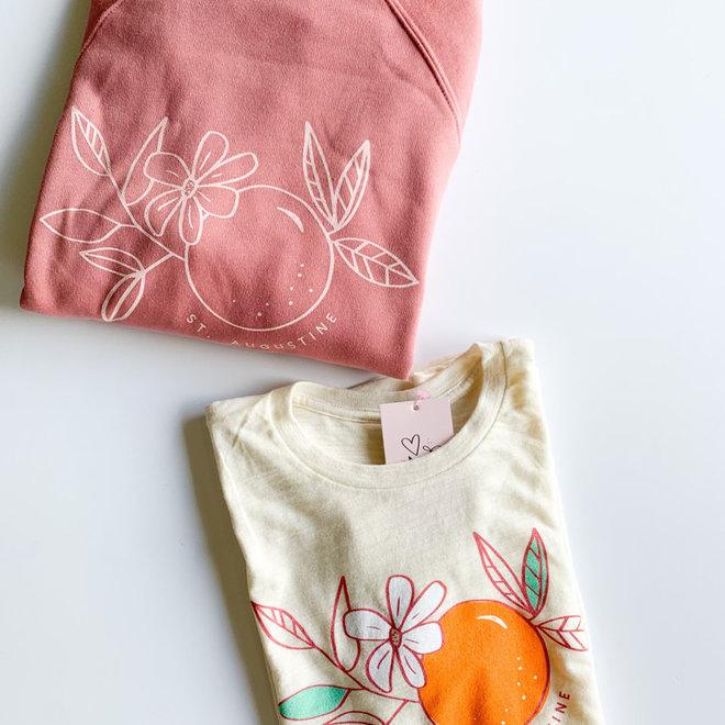 St. Augustine Orange Blossom Pullover Mauve