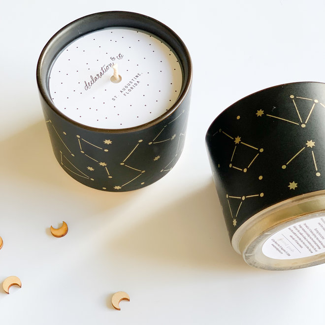 Crackling Firewood Constellation Candle