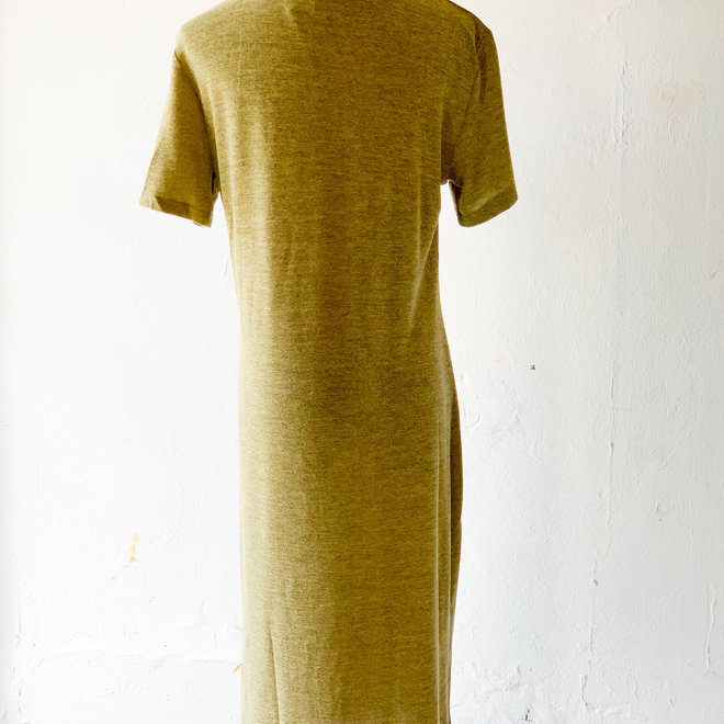 Mossy Green Dress