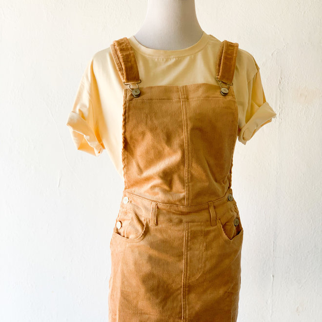 By Your Side Overall Dress