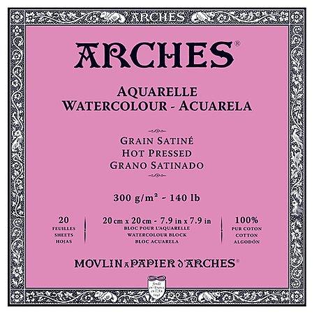 ARCHES ARCHES WATERCOLOUR BLOCK 140LB HP 9X12