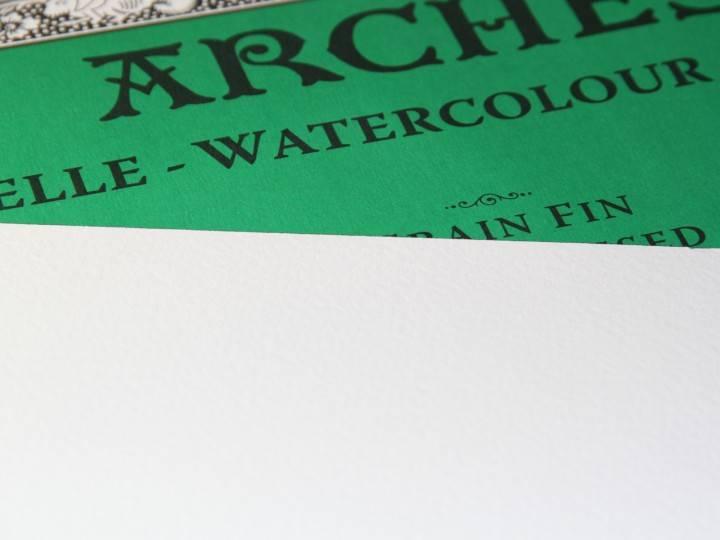 ARCHES ARCHES WATERCOLOUR BLOCK 140LB CP 14X20