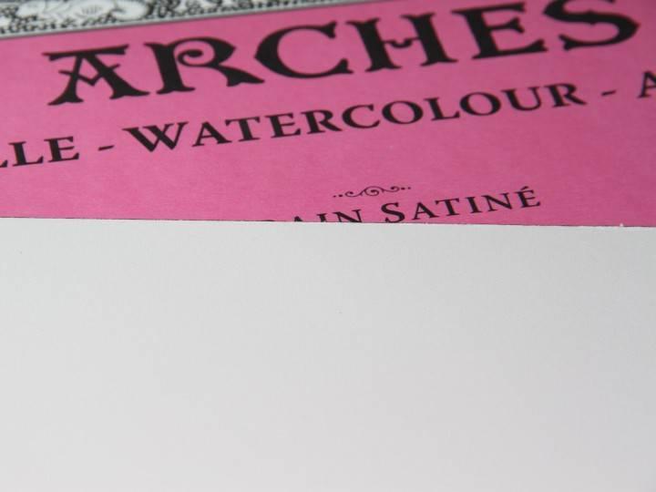 ARCHES ARCHES WATERCOLOUR BLOCK 140LB HP 3.9X9.8