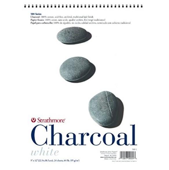 STRATHMORE STRATHMORE CHARCOAL PAPER 18X24 BLACK