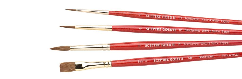 Sceptre Gold II Brushes