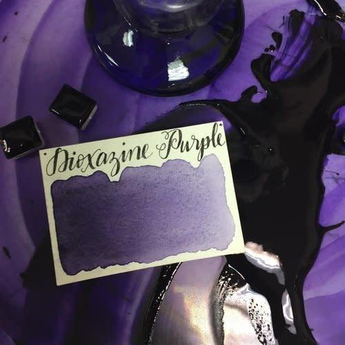 STONEGROUND STONEGROUND WATERCOLOUR HALF PAN DIOXAZINE PURPLE