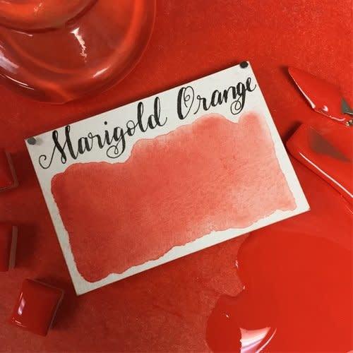 STONEGROUND STONEGROUND WATERCOLOUR MARIGOLD ORANGE HALF PAN