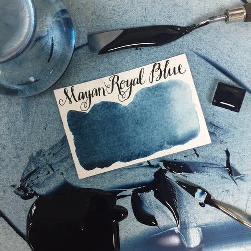 STONEGROUND STONEGROUND WATERCOLOUR MAYAN ROYAL BLUE HALF PAN
