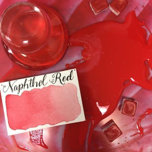 STONEGROUND STONEGROUND WATERCOLOUR HALF PAN NAPHTHOL RED