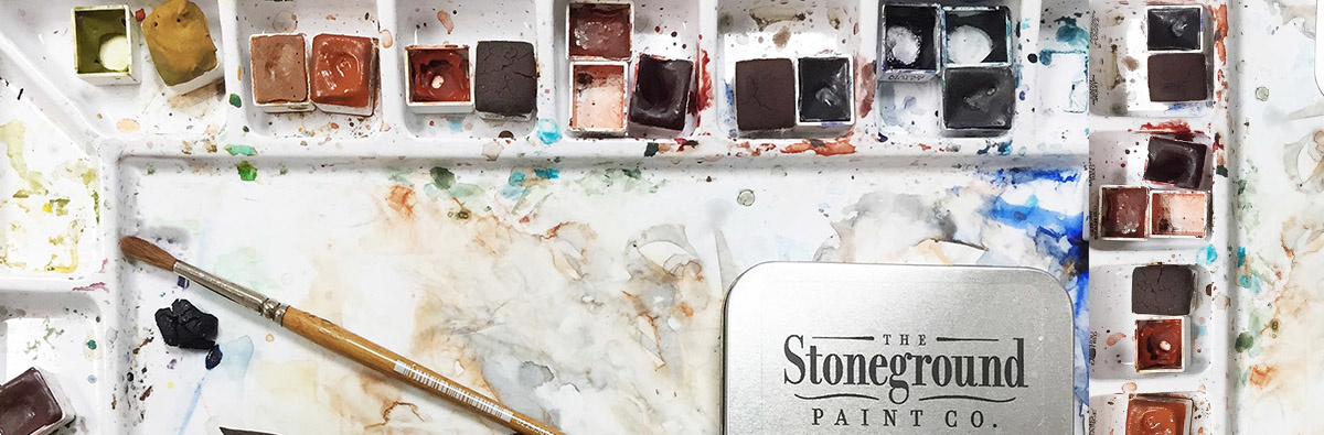 Stoneground Watercolours Individual Pans