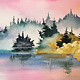 ART CLASS - MISTY MORNING IN WATERCOLOUR WITH JANET CARDINAL -  JUNE 19, 6 - 9PM