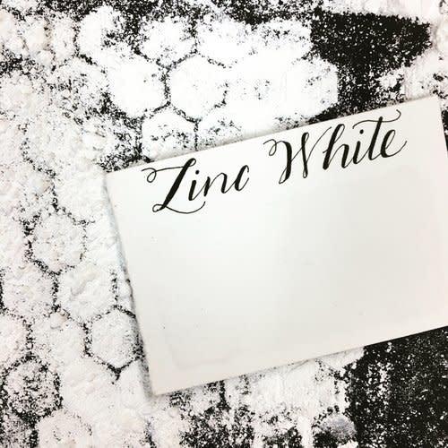 STONEGROUND WATERCOLOUR HALF PAN ZINC WHITE