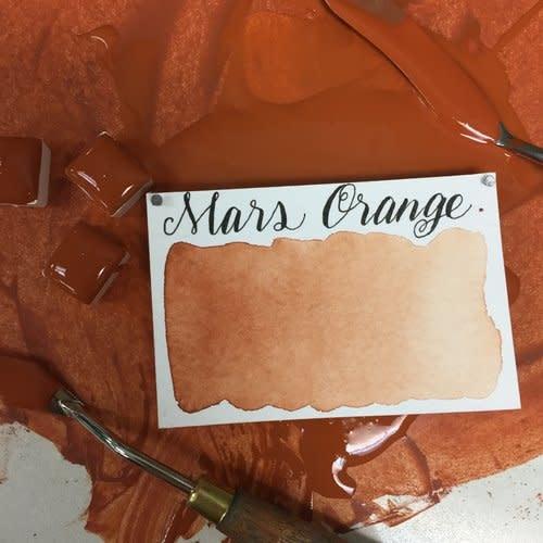 STONEGROUND WATERCOLOUR HALF PAN MARS ORANGE
