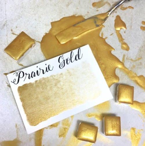 STONEGROUND WATERCOLOUR HALF PAN PRAIRIE GOLD