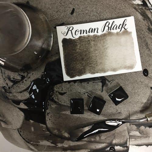 STONEGROUND STONEGROUND WATERCOLOUR HALF PAN ROMAN BLACK