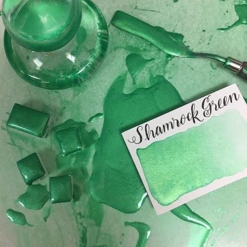STONEGROUND WATERCOLOUR HALF PAN SHAMROCK GREEN
