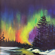 ART CLASS - NORTHERN LIGHTS IN ACRYLICS, OCTOBER 1, 6-9PM