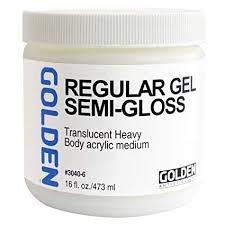 GOLDEN GOLDEN ACRYLIC MEDIUM REGULAR GEL