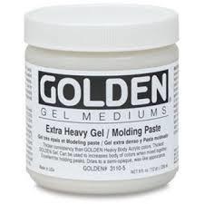 GOLDEN GOLDEN ACRYLIC MEDIUM EXTRA HEAVY GEL