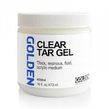 GOLDEN GOLDEN ACRYLIC MEDIUM CLEAR TAR GEL