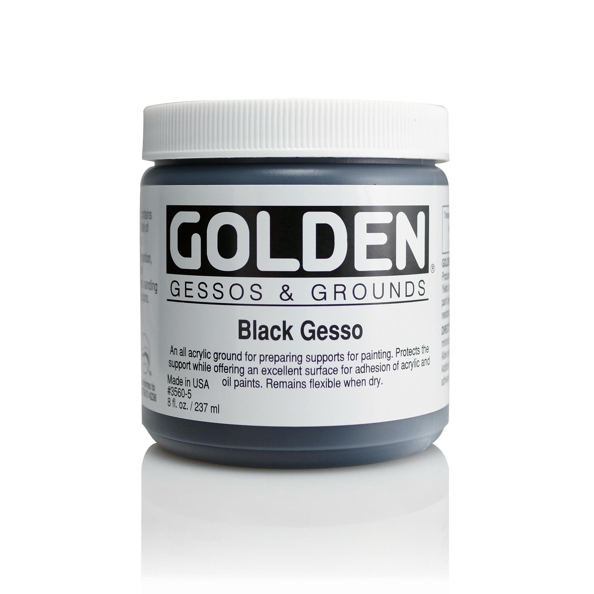 GOLDEN GOLDEN ACRYLIC MEDIUM GESSO
