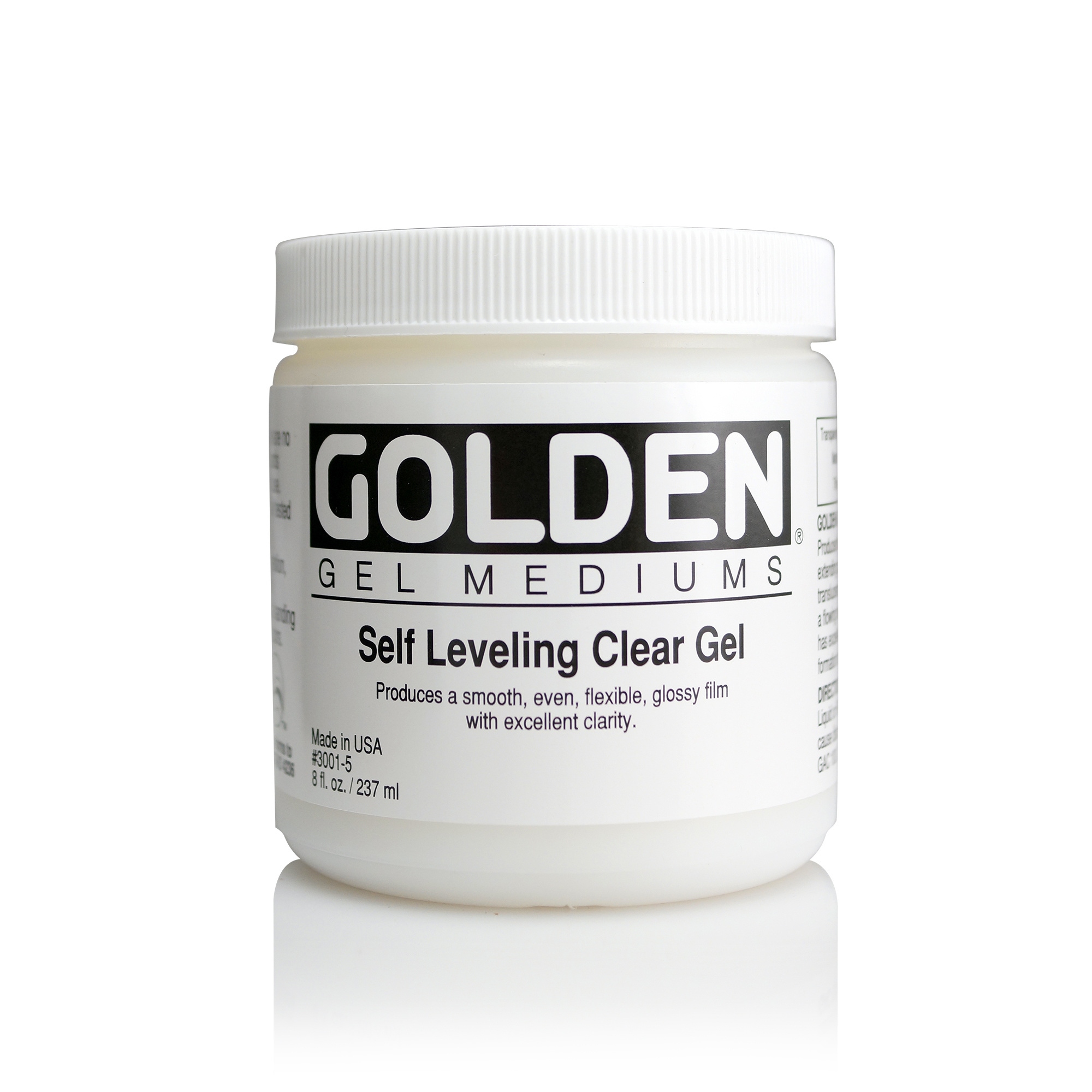 GOLDEN GOLDEN ACRYLIC MEDIUM CLEAR SELF LEVELING GEL