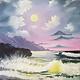 ART CLASS - OCEAN MOON IN ACRYLICS - JAN. 14, 6-9 PM