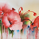 ART CLASS - DRIPPY POPPIES IN WATERCOLOUR  - MARCH 24, 6-9 PM
