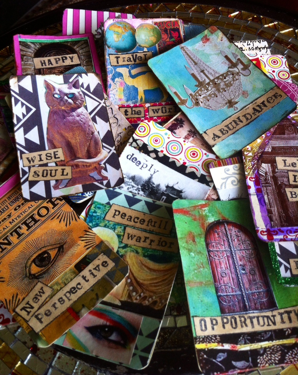 ART CLASS - CREATE YOUR OWN ORACLE DECK - MARCH 18, 25 & APRIL 1, 6 - 8 PM
