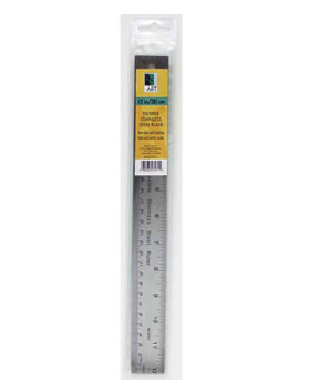 ART ADVANTAGE ART ADVANTAGE FLEXIBLE STAINLESS STEEL RULER 24""