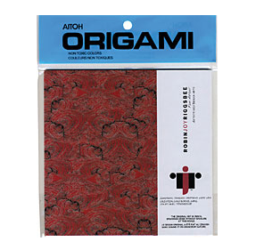 AITOH AITOH ORIGAMI PAPER PENCIL DRAWING #1 6X6 20/PK
