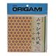 AITOH AITOH ORIGAMI PAPER GEOMOTERIC PATTERN MIYABI CHIYOGAMI KOMON 48/PK