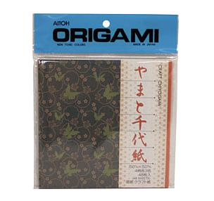AITOH AITOH ORIGAMI PAPER CRAFT PRINT CHIYOGAMI 5 7/8'' 48/PK