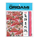 AITOH AITOH ORIGAMI PAPER FLORAL METALLIC CHIYOGAMI 5 7/8'' 8/PK