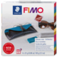 FIMO EFFECT LEATHER KIT POUCH BLUE/BLACK