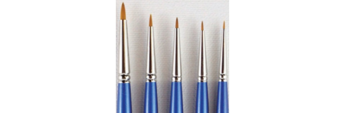 Series 750 Gold Sable Retouch Brushes
