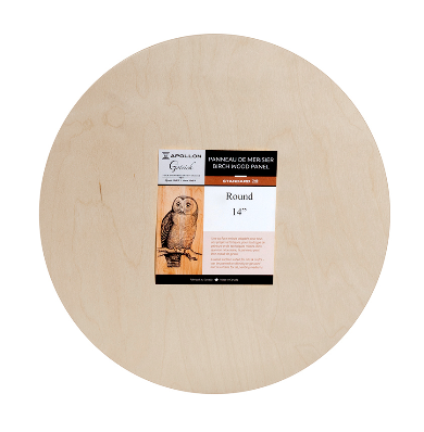 GOTRICK APOLLON GOTRICK ROUND WOOD PANEL REGULAR 12""
