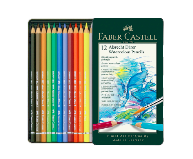 FABER CASTELL ALBRECHT DURER WATERCOLOUR PENCIL SET/12