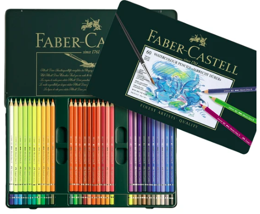 FABER CASTELL ALBRECHT DURER WATERCOLOUR PENCIL SET/60