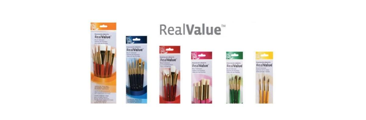 Real Value Brush Sets