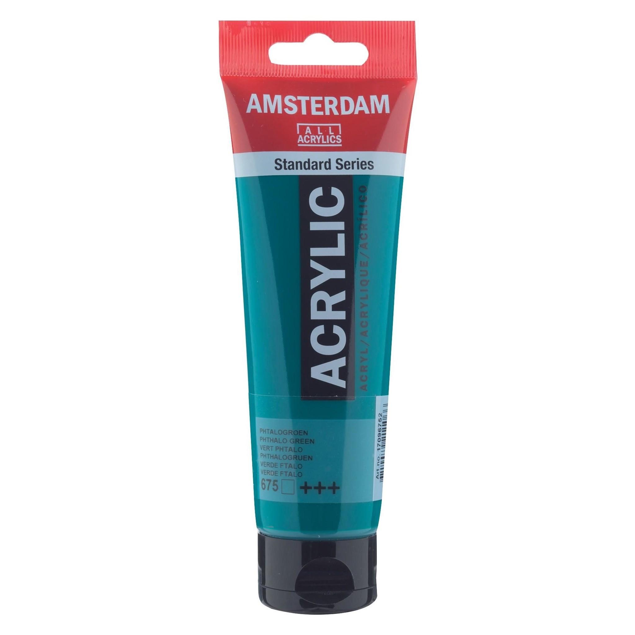 AMSTERDAM ACRYLIC 4OZ PHTHALO GREEN