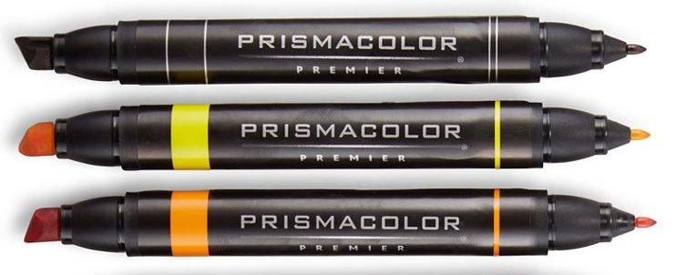 Prismacolor Chisel Markers