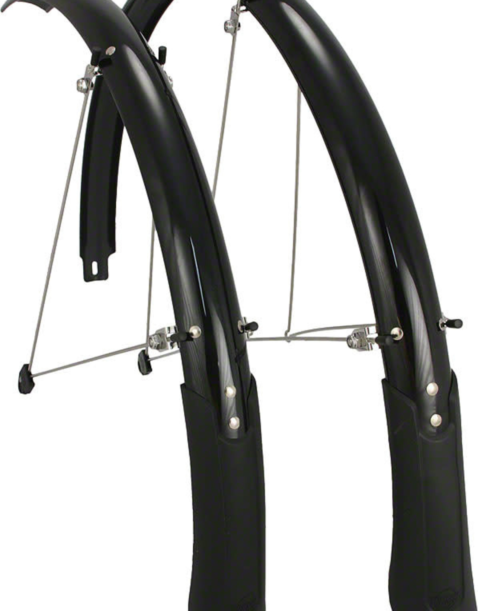 Planet Bike Cascadia 700c Hybrid/Tour 45 mm Black Fender