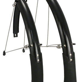 Planet Bike Cascadia PB Hybrid/Tour 45mm Fenders (up to 700 x 38 tires) Black