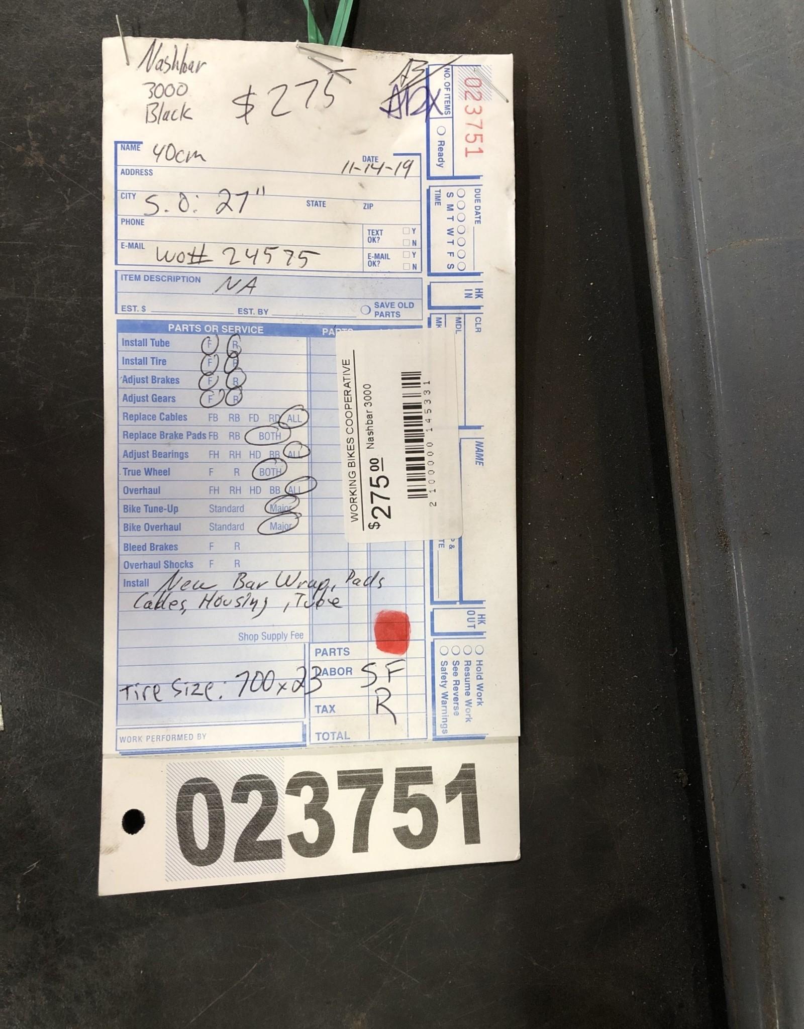 40cm Nashbar 3000 (N/A, sfr)