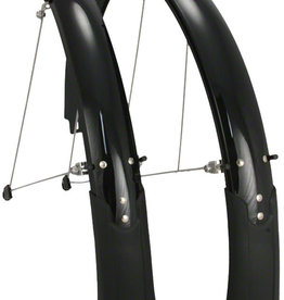 "Planet Bike Cascadia 26"" x 60 Fender Set: Black (26 x 1.4-1.9)"